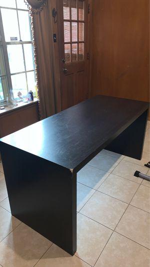 Simple Black Desk for Sale in Houston, TX
