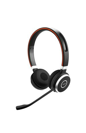 Jabra Evolve 65 UC Stereo Wireless Bluetooth Headset / Music Headphones Includes Link 360 for Sale in Frisco, TX
