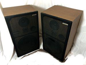 2x Pair Pioneer CS-G303 Floor Stereo Music Speakers 3-Way Speaker System 120 W Watts Vintage Retro 70s Classic Woofer Tweeter for Sale in El Cajon, CA