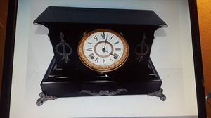 Antique Ansonia Iron Cased Mantle Clock for Sale in Lorain, OH
