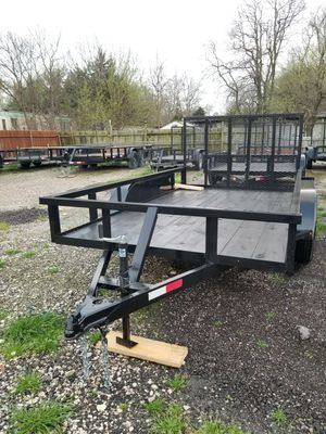 Square Pipe Trailer New 12x76 With Tailgate *Traila* for Sale in Wylie, TX