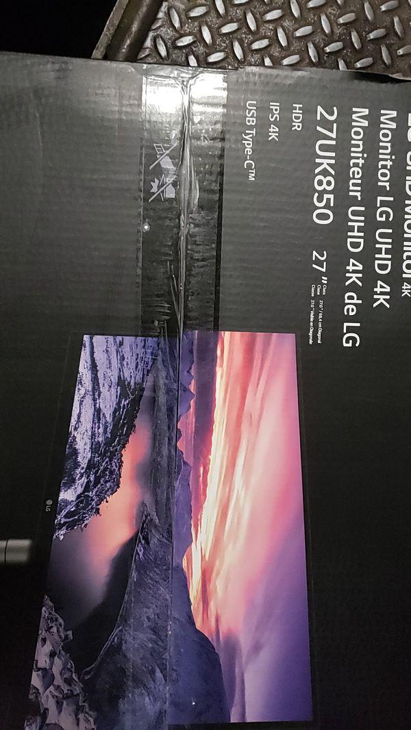 Lg 27uk850 4k monitor