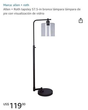 Glass Shade Floor Lamp for Sale in Irvine, CA
