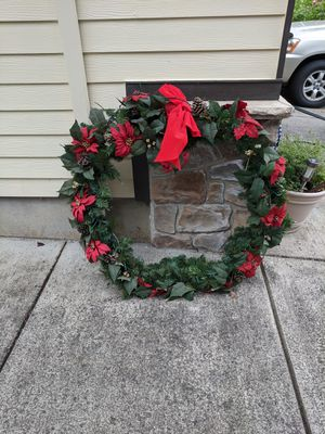 """Free 40"""" wreath for Sale in Gresham, OR"""