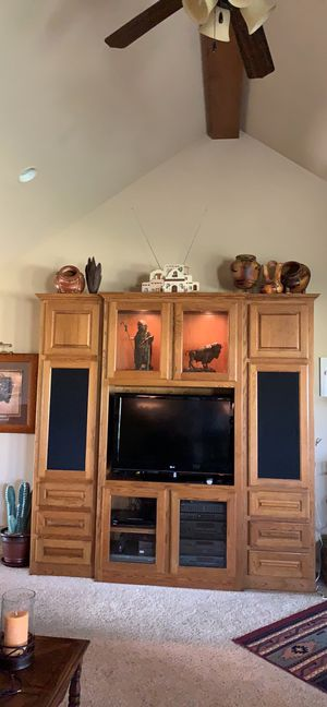 Entertainment center for sale for Sale in Springtown, TX