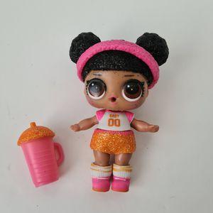 LOL Surprise Doll GLITTER SERIES HOOPS MVP Big Sister SPARKLE BABY Basketball for Sale in St. Petersburg, FL