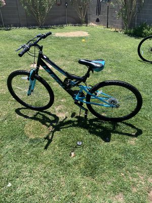 """26"""" huffy suspension dual mountain bike works great $140 PRICE IS FIRM NO LESS for Sale in North Las Vegas, NV"""