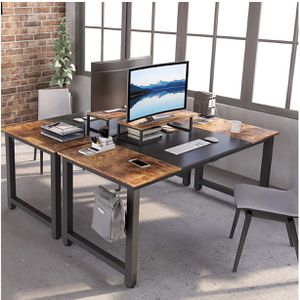 """ubiCubi Computer Desk 63"""" with Splice Board Study Writing Table for Home Office, Modern Simple Style PC Desk, Black Me for Sale in Paramount, CA"""