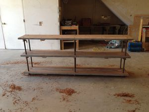 Industrial Entertainment Cabinet/ Shelves for Sale in Whittier, CA