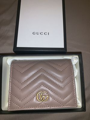 Gucci GG Marmont card case wallet for Sale in La Habra Heights, CA