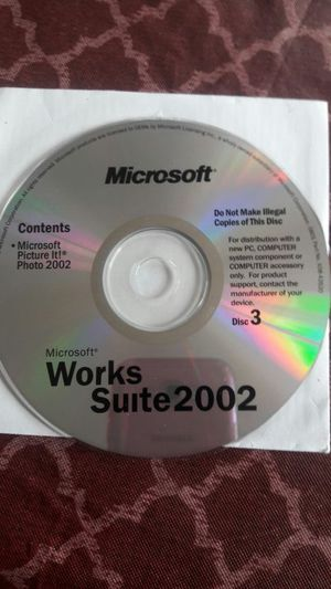 Microsoft CD for Sale in Fountain, CO