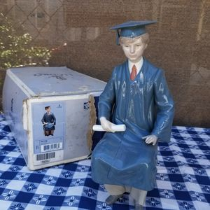 Lladro porcelain figurine 'Boy Graduate' for Sale in Woodland Hills, CA