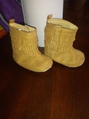 Baby cute boots size 12-18 mos for Sale in Mulberry, FL