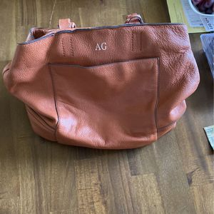 Genuine Leather Tote Bag --Light Brown for Sale in Fort Lauderdale, FL