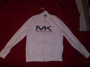 Michael Kors all white zip up for Sale in Milwaukee, WI