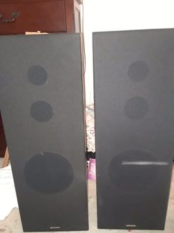 Sharp Floor/House Speakers for Sale in St. Cloud,  FL