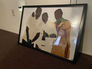 20x30 Paid In Full & 20x20 NWA prints with frame for Sale in Pawtucket, RI