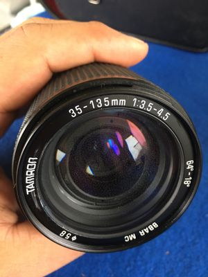 Lens tamron 35-135mm for Sale in Riverview, FL