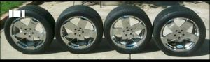 """18"""" Neeper rims on Nitto racing tires for Sale in Peoria, IL"""