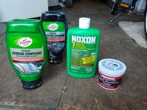 Polish, buffing compound, metal polish, various for Sale in Charlottesville, VA