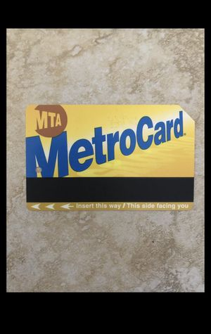 30 day Unlimited metrocard for Sale in New York, NY