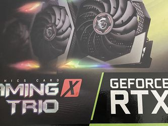 MSI NVIDIA GeForce RTX 2080 GAMING X TRIO 8GB GDDR6 Graphics Card for Sale in Norco,  CA