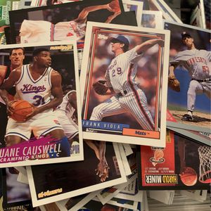 Baseball And Basketball Cards Box :) for Sale in Newberg, OR