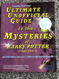 Ultimate Unofficial Guide To Harry Potter Book 5 for Sale in Pickerington,  OH