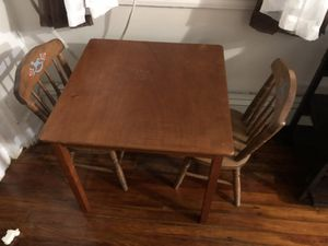 Kids table and chairs for Sale in Philadelphia, PA