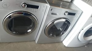 Washer and dryer ge width 24 inches for Sale in Fort Washington, MD