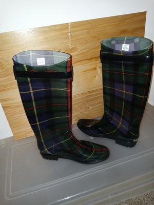 Ralph Lauren knee high Rosalyn llrain boots. Brand New. Size 11B for Sale in Marietta, GA