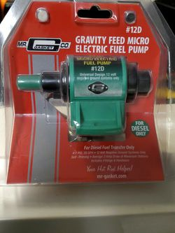 Gravity Feed Micro Electric Fuel Pump for Sale in Draper,  UT