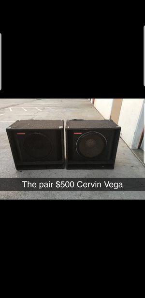 CERVIN VEGA for Sale in Los Angeles, CA