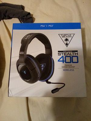 Stealth 400 turtle beach headset for Sale in Fairburn, GA