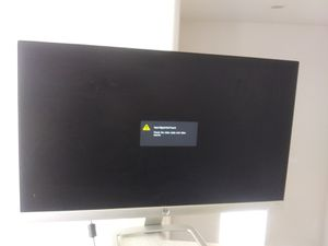 21 inch hp monitor - perfect condition. for Sale in Las Vegas, NV