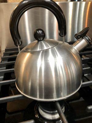 """Tiny teapot. Stainless tea kettle. 6.5"""" for Sale in Alpharetta, GA"""