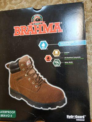 like new 12w brahma bravo 2 work boot for Sale in Brick, NJ