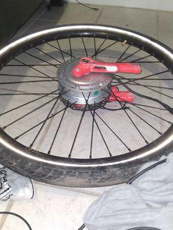 Electric Bicycle Wheel for Sale in Tukwila,  WA