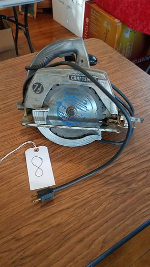 Craftsman Electric Hand Saw for Sale in Meyersdale, PA