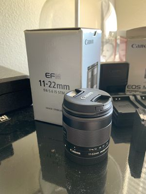 Canon 11-22mm EF-M Lens for Sale in Gibsonton, FL