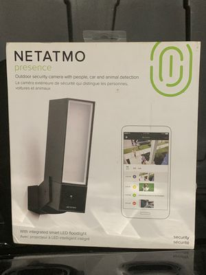 NEW Netatmo Presence Outdoor Security Camera for Sale in Grand Terrace, CA