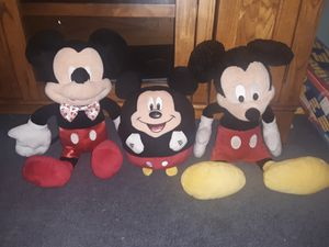 Mickey Mouse 3pc $10 for Sale in Virginia Beach, VA