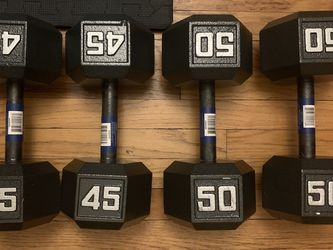 NEW DUMBELL PAIRS 45s 50s for Sale in Chicago,  IL