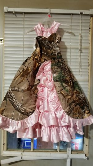 Little flower girls dress and boots for Sale in North Canton, OH