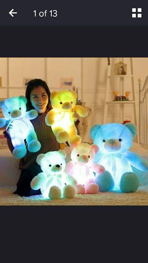 Light soft teddy bears for Sale in Elizabeth City, NC