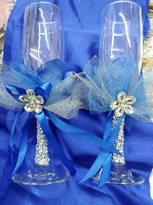 Glasses or champagne cups for Sale in Houston, TX