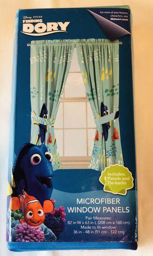 Finding Nemo window panels microfiber for Sale in North Miami, FL