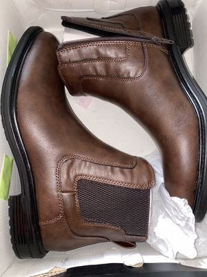 Alfani Black and Brown Hugh Boots for Sale in Pinellas Park, FL