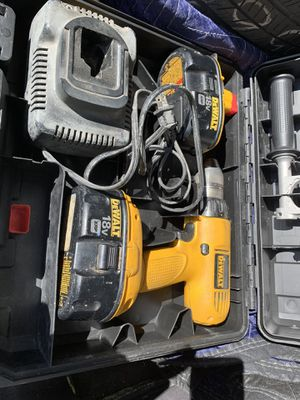 18v Dewalt power drill with case for Sale in Middleton, ID