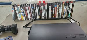 Ps3 4 controllers and 32 games for Sale in Baltimore, MD